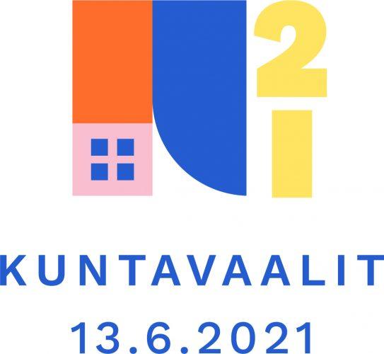 Kuntavaalit 13.6.2021 -logo