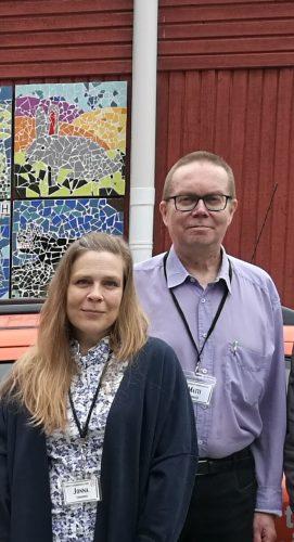 Kasvokuvat Jonna Lindroos, Matti Kontio